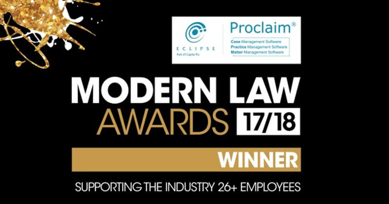 CILEx Law School starts the year by winning Modern Law's Supporting the Industry Award